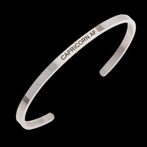 CAPRICORN AF Stainless Steel Bracelet Band Cuff